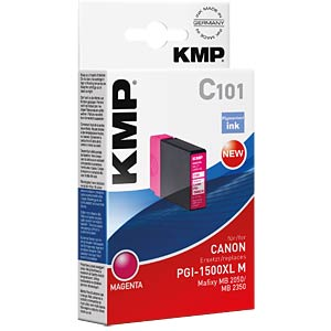 Tinte, magenta - PGI-1500XL M KMP PRINTTECHNIK AG 1564,0006