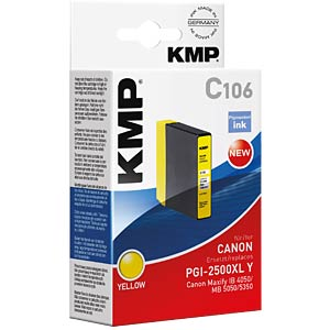 Ink — Canon — yellow — PGI-2500XL Y — comp. KMP PRINTTECHNIK AG 1565,0009