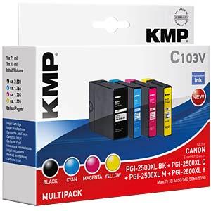 Tinte, MP - PGI-2500XL BK/C/M/Y - refill KMP PRINTTECHNIK AG 1565,0050