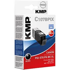 Ink — Canon — black — PGI 570 KMP PRINTTECHNIK AG 1567,0001