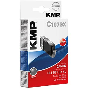 Tinte, grau - CLI-571GY KMP PRINTTECHNIK AG 1569,0041