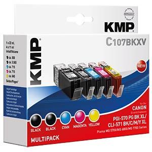 Tinte - Canon - Multipack - PGI-570/CLI-571 KMP PRINTTECHNIK AG 1569,0050