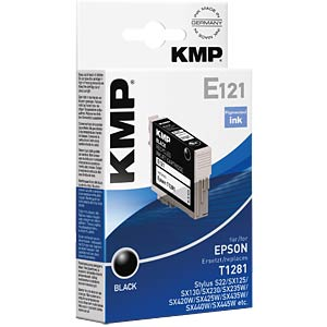 Ink - Epson - black - T1281 - refill KMP PRINTTECHNIK AG 1616,4001