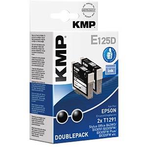 Ink - Epson - black - 2x T1291 - refill KMP PRINTTECHNIK AG 1617,4021