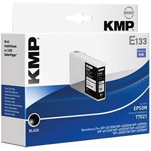 Tinte - Epson - schwarz - T7021 - refill KMP PRINTTECHNIK AG 1620,4001