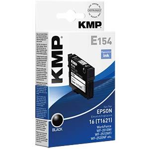 Tinte - Epson - schwarz - T1621 - refill KMP PRINTTECHNIK AG 1621,4801