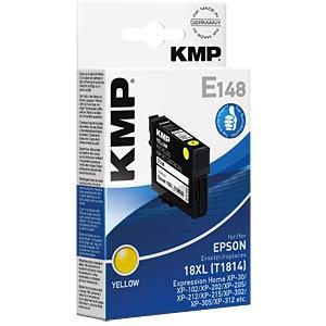 Tinte - Epson - gelb - T1814 - refill KMP PRINTTECHNIK AG 1622,4009