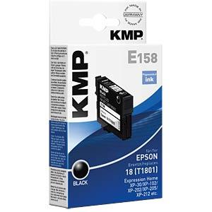 KMP 1622,4801 - Tinte - Epson - schwarz - T1801 - refill