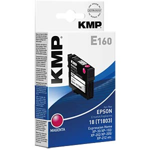 Tinte - Epson - magenta - T1803 - refill KMP PRINTTECHNIK AG 1622,4806