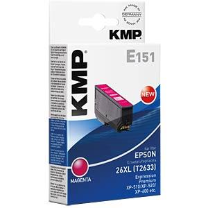 Tinte - Epson - magenta - T2633 - refill KMP PRINTTECHNIK AG 1626,4006