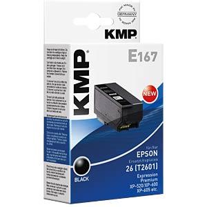 KMP 1626,4801 - Tinte - Epson - schwarz - T2601 - refill