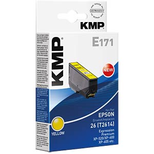 Tinte - Epson - gelb - T2614 - refill KMP PRINTTECHNIK AG 1626,4809