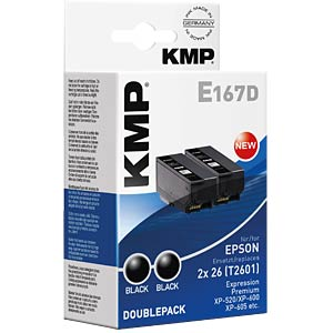 Tinte - Epson - schwarz - 2x T2601 - refill KMP PRINTTECHNIK AG 1626,4821