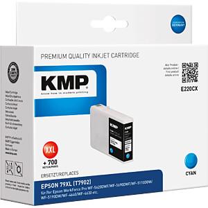 Tinte - Epson - cyan 79XL - T7902 - refill KMP PRINTTECHNIK AG 1628,4003
