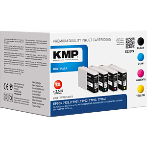 Tinte - Epson - Multipack 79XL - T7901-4 - refill KMP PRINTTECHNIK AG 1628,4005