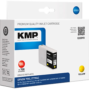 Tinte - Epson - gelb 79XL - T7904 - refill KMP PRINTTECHNIK AG 1628,4009