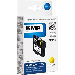 KMP 1632,4009 - Tinte - Epson - gelb - 29 - refill
