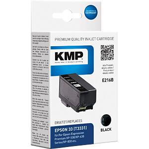 Cartouche d'encre - Epson - noir - T3331 - recharge KMP PRINTTECHNIK AG 1633,4801