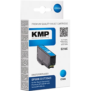 Tinte - Epson - cyan - T3342 - refill KMP PRINTTECHNIK AG 1633,4803