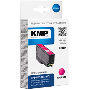 Ink - Epson - magenta - T3343 - refill KMP PRINTTECHNIK AG 1633,4806