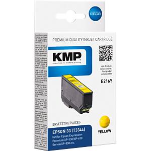 Tinte - Epson - gelb - T3344 - refill KMP PRINTTECHNIK AG 1633,4809