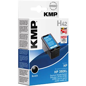 Ink — HP — black — 350XL — refill KMP PRINTTECHNIK AG 1706,4350