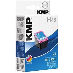 Tinte - HP - 3-color - 300XL - refill KMP PRINTTECHNIK AG 1710,4440
