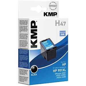 Ink — HP — black — 901XL — refill KMP PRINTTECHNIK AG 1711,4541