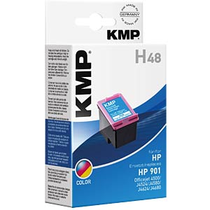 Ink — HP — 3-colour — 901 — refill KMP PRINTTECHNIK AG 1711,4560