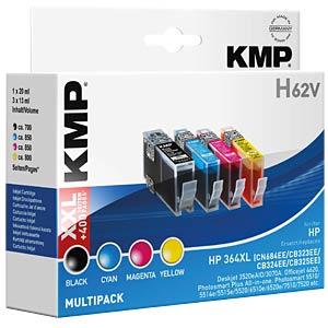 Inkt - HP - multipack - 364XL - navulling KMP PRINTTECHNIK AG 1712,0005