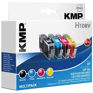 Tinte - HP - Multipack - 364 - refill KMP PRINTTECHNIK AG 1712,8005