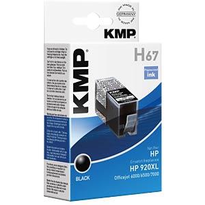 Tinte - HP - schwarz - 920XL - refill KMP PRINTTECHNIK AG 1717,0051