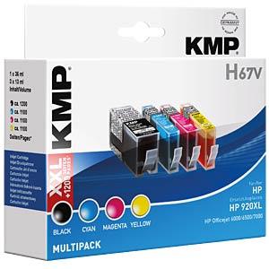 Tinte - HP - MP - 920XL - refill KMP PRINTTECHNIK AG 1717,0055