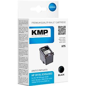 Tinte - HP - schwarz - 301XL - refill KMP PRINTTECHNIK AG 1719,4001