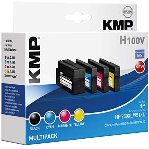 Ink — HP — MP — 951XL — refill KMP PRINTTECHNIK AG 1722,4050