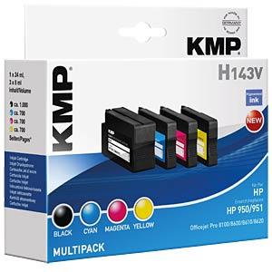 Tinte - HP - Multipack pig. - 950/951 - refill KMP PRINTTECHNIK AG 1722,4850