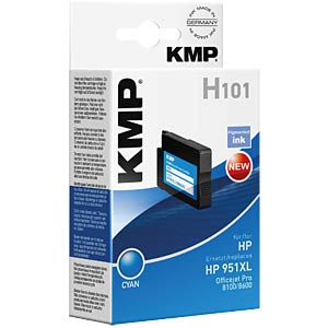Kleur - HP - cyaan - 951XL - navulling KMP PRINTTECHNIK AG 1723,4003
