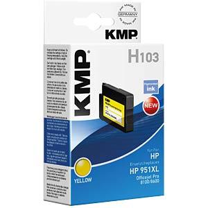 Tinte - HP - gelb - 951XL - refill KMP PRINTTECHNIK AG 1723,4009