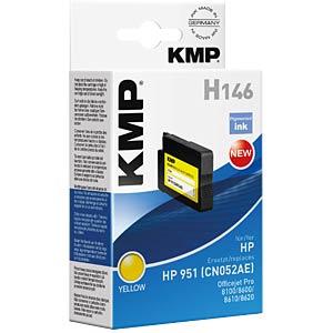 Tinte - HP - gelb pig. 951 - refill KMP PRINTTECHNIK AG 1723,4809
