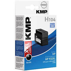 Inkt - HP - zwart - 932XL - navulling KMP PRINTTECHNIK AG 1725,4001