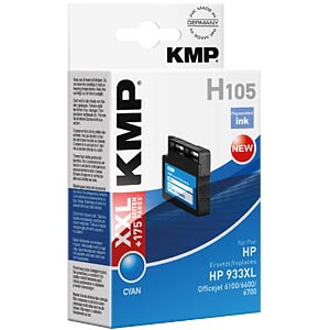 Tinte - HP - cyan - 933XL - refill KMP PRINTTECHNIK AG 1726,4003