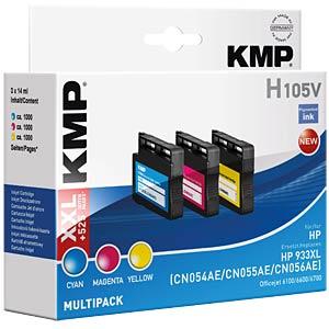Ink - HP - multipack - 933XL - refill KMP PRINTTECHNIK AG 1726,4050