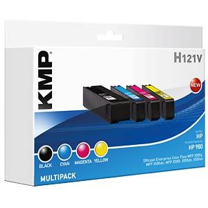 Tinte - HP - Multipack - 980 - refill KMP PRINTTECHNIK AG 1739,4050