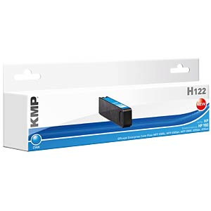 Tinte - HP - cyan - 980 - refill KMP PRINTTECHNIK AG 1740,4003