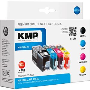 Inkt - HP - multipack - HP934XL/935XL - navulling KMP PRINTTECHNIK AG 1743,0050