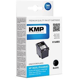 Tinte - HP - schwarz - 302XL - refill KMP PRINTTECHNIK AG 1745,4001