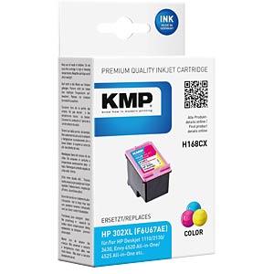 Inkt - HP - color - 302XL - navulling KMP PRINTTECHNIK AG 1746,4030