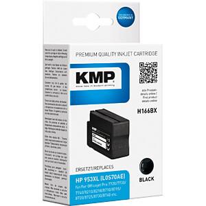 Tinte - HP - schwarz - 953XL - refill KMP PRINTTECHNIK AG 1747,4001