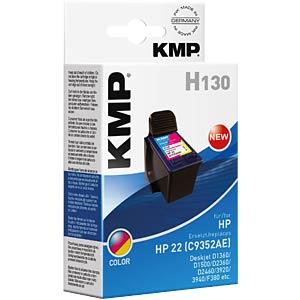 Inkt - HP - 3-color - 22 - navulling KMP PRINTTECHNIK AG 1901,4820