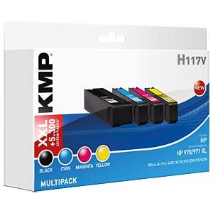 Tinte - HP - HP 970/971XL - refill KMP PRINTTECHNIK AG 1902,4050
